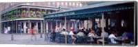 Framed Cafe du Monde French Quarter New Orleans LA