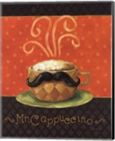 Framed Cafe Moustache IV