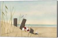 Framed Seaside Dunes I