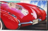 Framed '57 Corvette