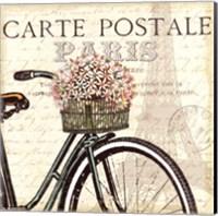 Framed Paris Ride I