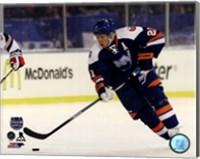 Framed Kyle Okposo 2014 NHL Stadium Series Action