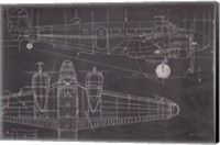 Framed Plane Blueprint I