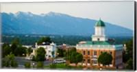 Framed Salt Lake City Council Hall, Capitol Hill, Salt Lake City, Utah, USA