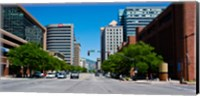 Framed Downtown Salt Lake City, Salt Lake City, Utah