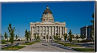 Framed Utah State Capitol Building, Salt Lake City