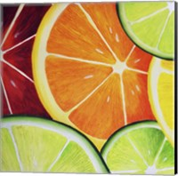 Framed Sliced Orange
