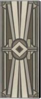 Framed Neutral Deco Panel II