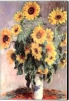 Framed Sunflowers, c.1881