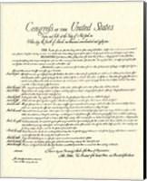 Framed Bill of Rights (Document)