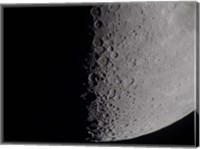 Framed South terminator of 7 day moon
