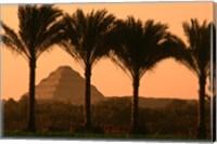 Framed Step Pyramid, Djoser, Old Kingdom, Sakkarra, Egypt