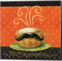 Framed Cafe Moustache IV Square