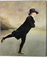 Framed Reverend Walker Skating