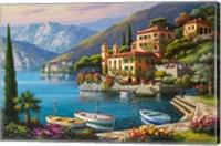 Framed Villa Bella Vista