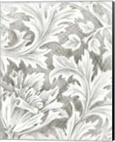 Framed Floral Pattern Sketch II