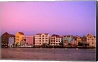 Framed Punda, Curacao, Netherlands Antilles