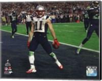 Framed Julian Edelman Touchdown Super Bowl XLIX