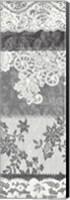 Framed Vintage Lace Panel I