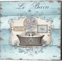 Framed Rustic French Bath II