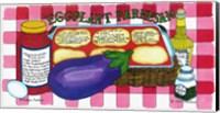 Framed Eggplant Parmesan