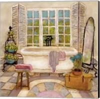 Framed Sunny Day Bath II