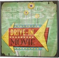 Framed Drive In
