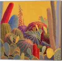 Framed Desert Garden 3