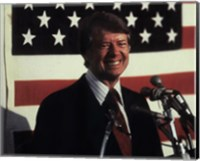 Framed Jimmy Carter, 39th President of the United States