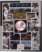Framed New York Yankees 2015 Team Composite
