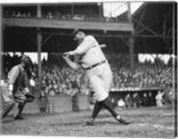 Framed Babe Ruth Seattle Dugdale Park, 1924