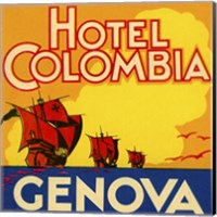 Framed Hotel Colombia, Genova