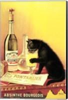 Framed Absinthe Bourgeois