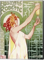 Framed Livemont Absinthe Robette Archival
