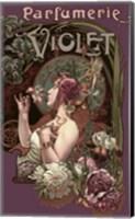 Framed Parfumerie Violet