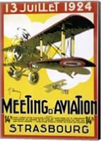 Framed Strasbourg Aviation