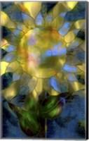 Framed Yellow Sunflower