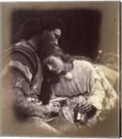 Framed Parting Of Lancelot And Queen Guenievre,  1874-1875