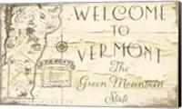 Framed Vermont Summer IX