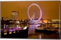 Framed England, London River Thames and London Eye