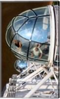 Framed London Eye, London, England