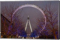 Framed England, London, London Eye Amusement Park
