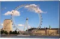 Framed London Eye, Amusement Park, London, England