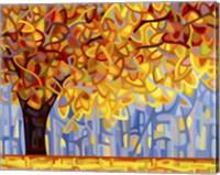 Framed October Gold