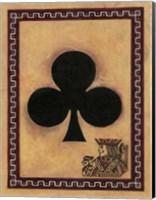 Framed Jack Of Clubs