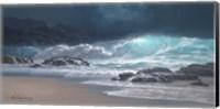 Framed Sweeping Ocean Tide