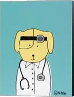 Framed My Dog the Doctor
