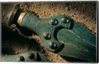 Framed Details of Sword