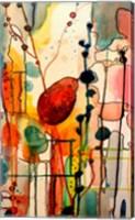 Framed Le Troubadour