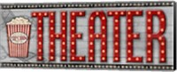 Framed Movie Marquee Panel II (Theater)